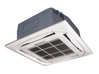 Water chilled Ceiling concealed 8 way Cassette Fan coil unit 300CFM -(FP-51KM)
